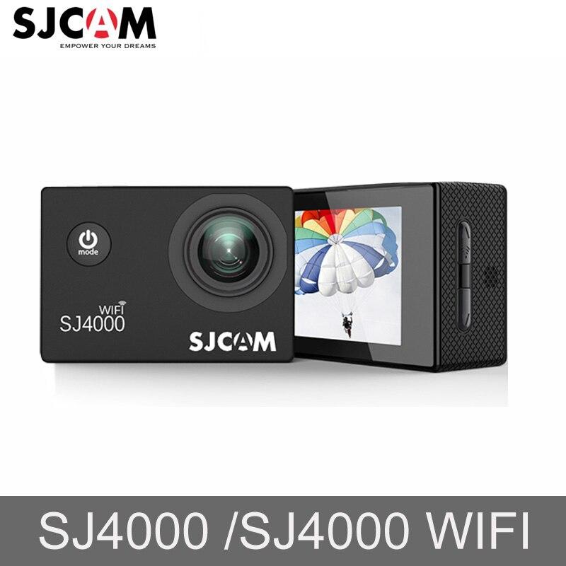 D'origine SJCAM SJ 4000 SJ4000 WIFI 1080 p HD 30 m Aller Étanche Pro Action Sports Caméra Mini de Conduite En Plein Air vidéo Cam DVR