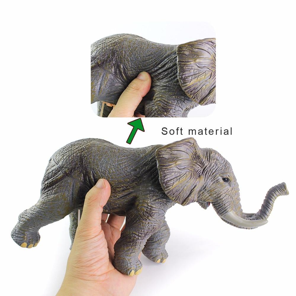 Wiben 4 ชิ้น/ล็อตพลาสติก Rhinos สิงโตวัวช้างจำลองเสียงสัตว์รุ่น Action ตัวเลขของเล่นของขวัญเด็ก-ใน ฟิกเกอร์แอคชันและของเล่น จาก ของเล่นและงานอดิเรก บน   2