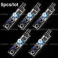 Linha Faixa Módulo Sensor de Reflexão TCRT5000 Sensor Infravermelho Módulo de Switch Para Arduino 5 pçs/lote Frete Grátis