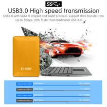 2.5″ New style Portable External Hard Drive Disco duro externo USB3.0 Disque dur externe for PC, Mac,Tablet, Xbox, PS4,TV box