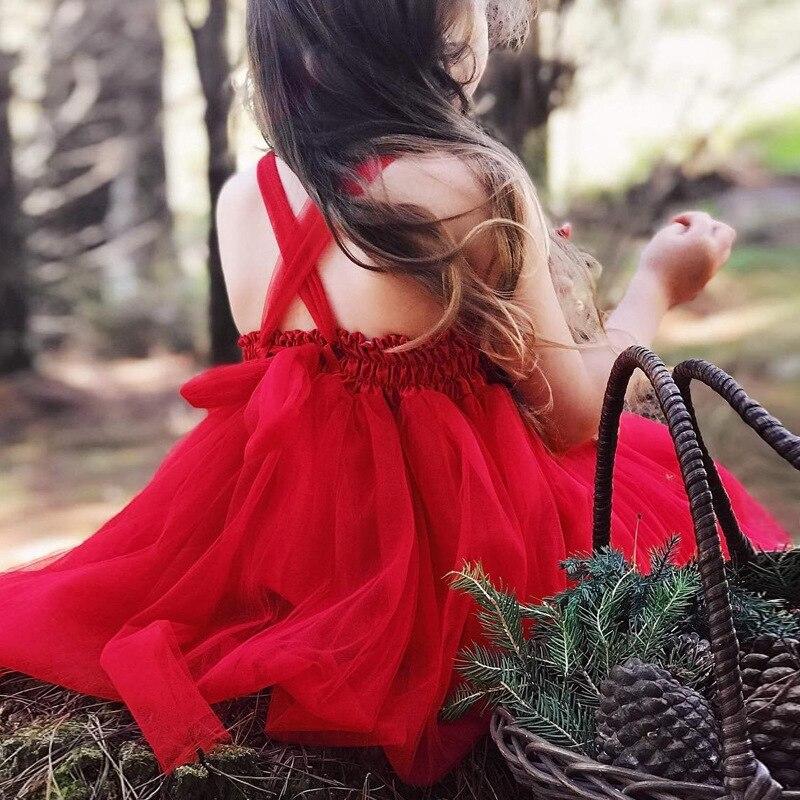 Sukienka dla dziewczyn 2018 Summer Sequined Lace Tutu Tulle Wedding - Ubrania dziecięce - Zdjęcie 2