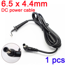 1pcs DC Tip Plug 6.5×4.4mm 6.5*four.4mm Energy Provide Connector Laptop computer Charger DC Energy Cable for Sony Adapter Jack DC Wire 1.2m