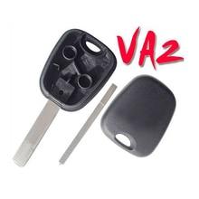 20pcs/lot For Peugeot Transponder Key Blank VA2 Blade