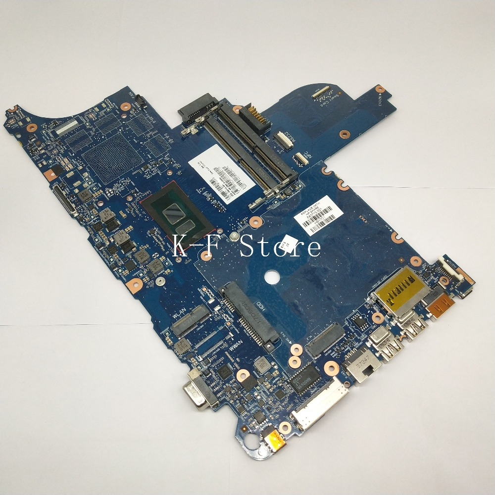For HP 640 <font><b>650</b></font> G2 Laptop Motherboard CIRCUS-6050A2723701-MB-A02 With <font><b>i5</b></font>-6200U 840715-001 DDR4 MB 100% Tested Fast Ship image