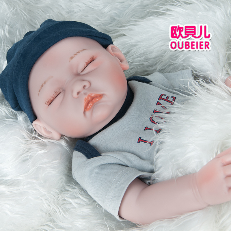 52cm Rebirth Doll Simulation sleep Baby baby dolls rebirth alive Plastic silicone poupee Vinyl Lifestyle  toys for children52cm Rebirth Doll Simulation sleep Baby baby dolls rebirth alive Plastic silicone poupee Vinyl Lifestyle  toys for children