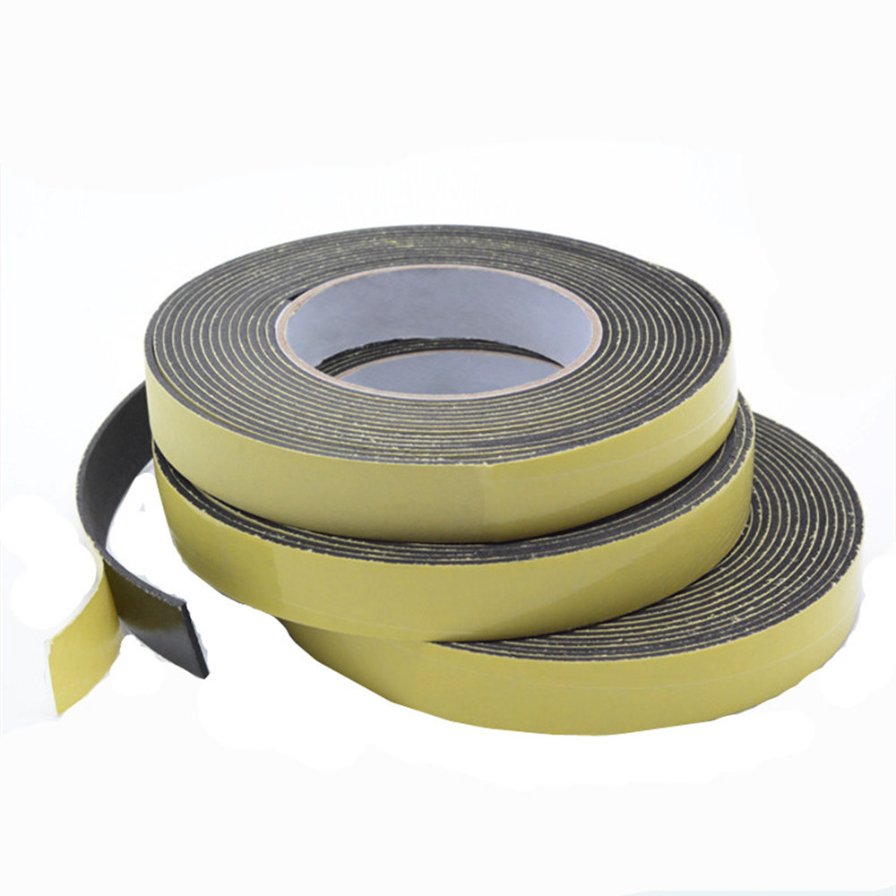 Home Improvement Eva Foam Tape Single Sided Adhesive Waterproof Weather Stripping Door Seal Tapes Dependable Performance Adhesives & Sealers