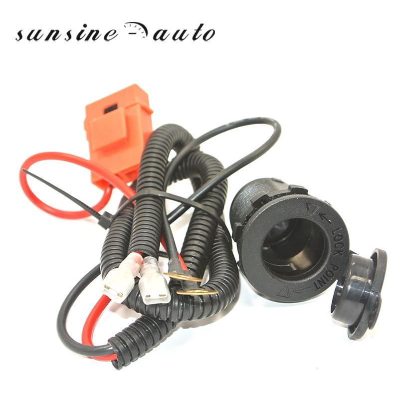 Universal 12v Car Cigarette Lighter Socket With High ...