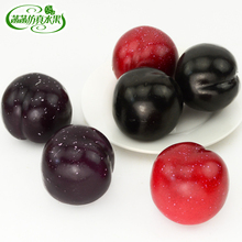 Black boolean goblin foam fake fruit model photography props black pear pears