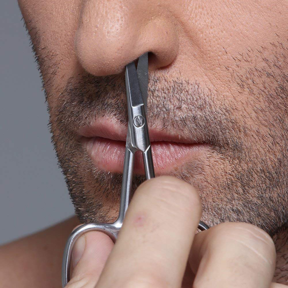Eyebrows And Nose Hair Scissors, 3.7