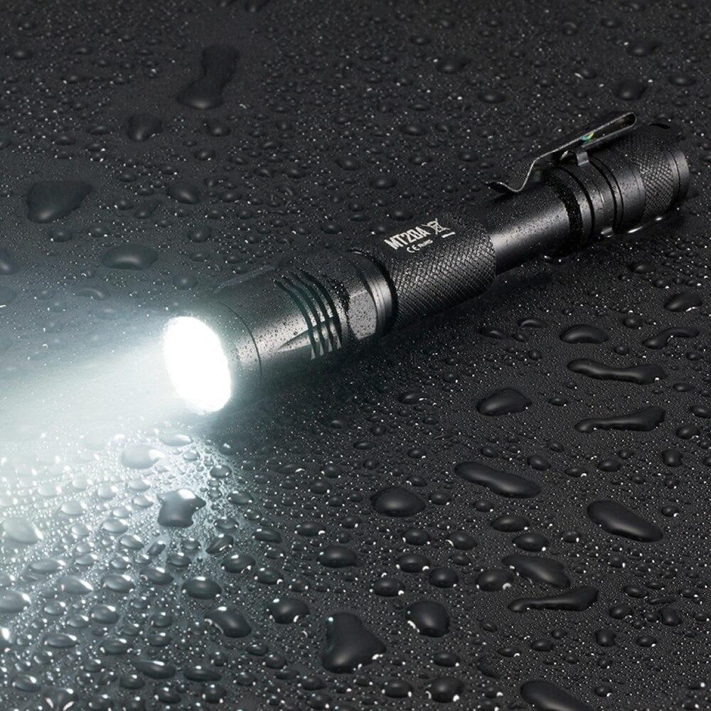 SALE NITECORE Multitask Tactical MT20A Flashlight XP G2 R5 White Red LED Light Illumination 2AA Camping