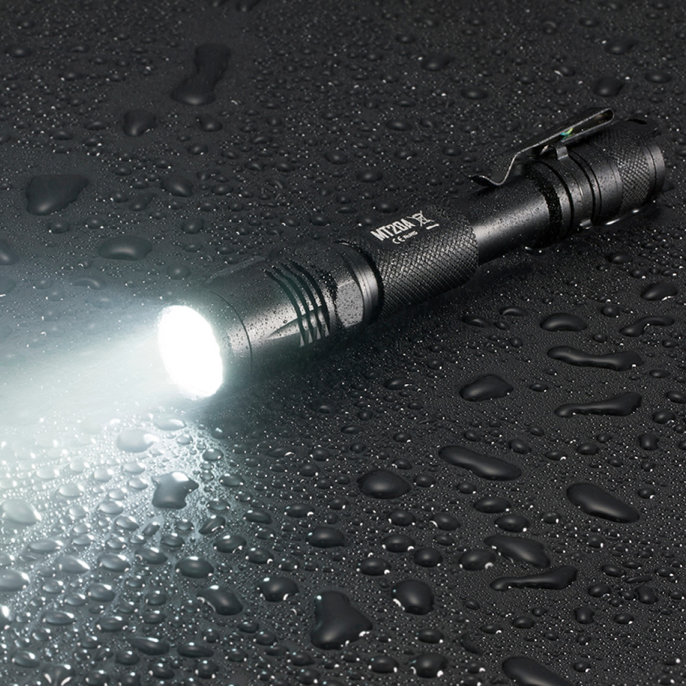 SALE NITECORE Multitask Tactical MT20A Flashlight XP-G2 R5 White+Red LED Light Illumination 2AA Camping Hand Light Free Shipping
