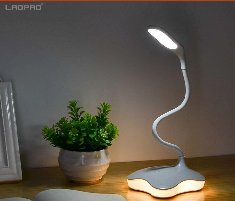 LED Desk lamp usb 3 Level Dimmable led Table Lamp Study Reading light for bedroom Night Light book light LAOPAO