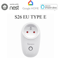 Sonoff S26 EU/US/UK/AU Wireless WiFi Timer Socket 10A 2200w Remote Power Supply Plug IOS Android Phone Remote Control Smart Home|Home Automation Modules|Consumer Electronics -