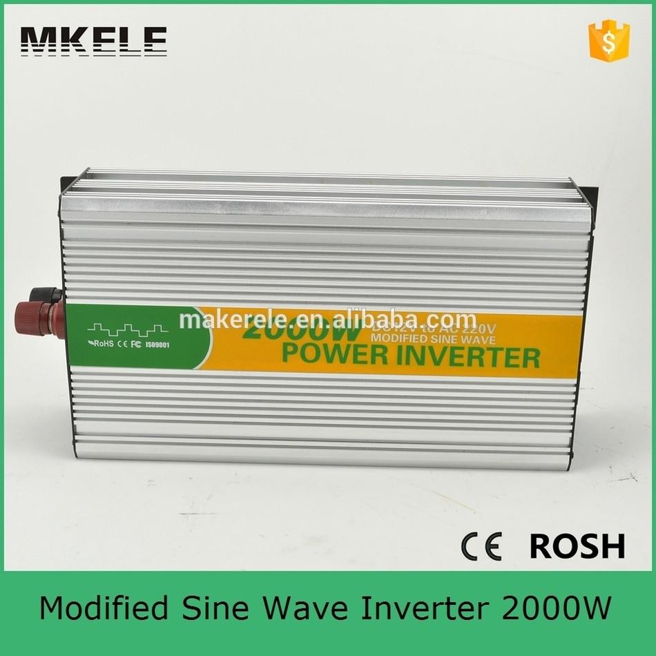 цена на MKM2000-481G 2kw off grid power inverter installation,48vdc 120vac dc ac modified sine wave inverter buy online in China