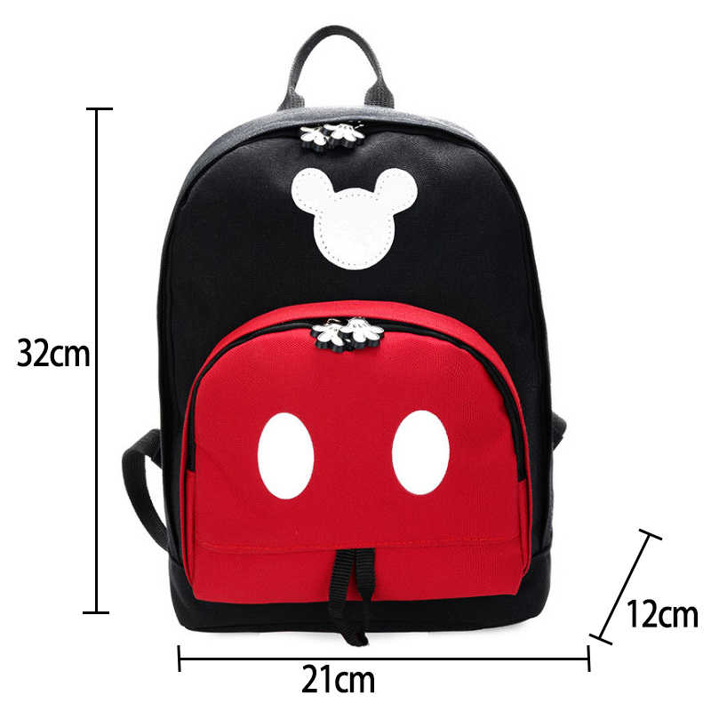 36f8b8eccc3 ... 2019 Disney Kids Backpack New Mickey Mouse School Bag Children Girls  Boys Backpacks Polyester Cute Cartoon ...