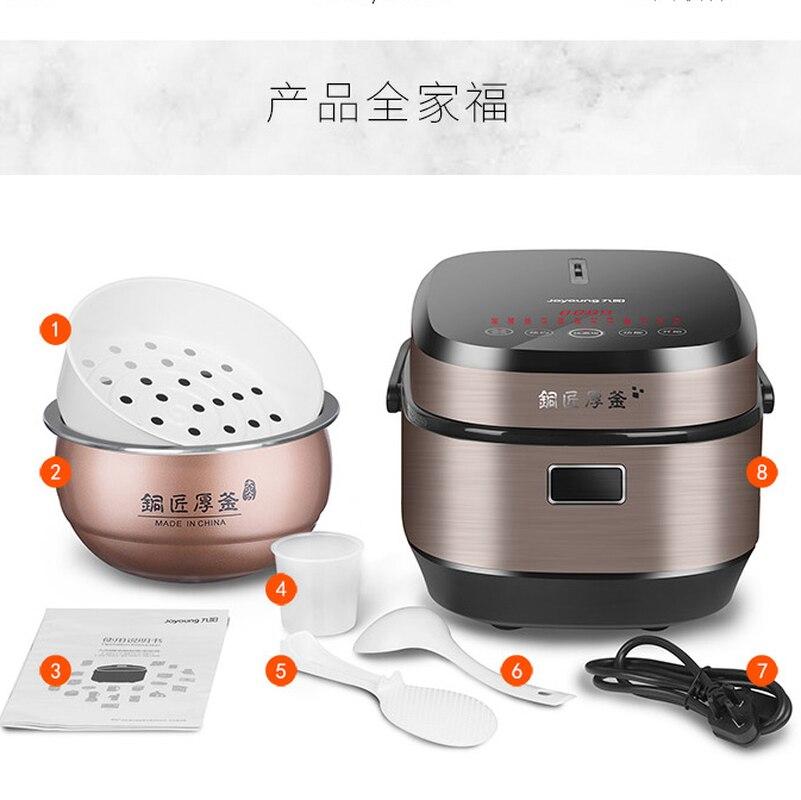 4L cuiseur à riz cuiseur à riz Rise Home grande capacité 3 Intelligence personnelle multifonction 4 personnes