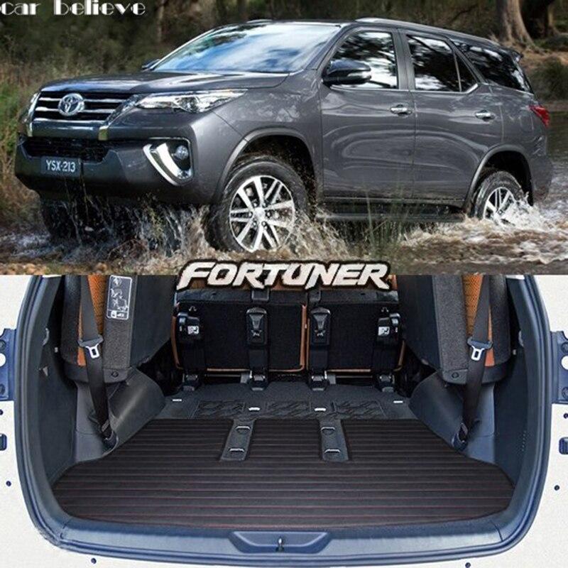 Car Believe car trunk mat For toyota fortuner 2017 accessories camry 2018 land cruiser prado crown