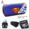 Superman Deadpool Batman Superman Phone Makeup Bag School Pen Pouch Pencil Case Cosmetic Case Bag For Girls Boys Kids