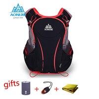AONIJIE 5L Running Backpack Kettle Package Marathon Cycling Bags Running Vest Kettle Sport Bag Waterproof Nylon
