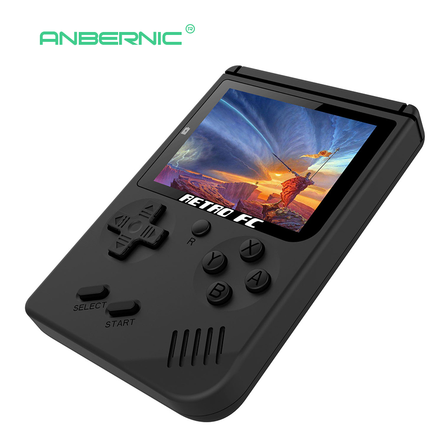 Portable Video Retro Mini Handheld Game Console Player 3.0 Inch 8 Bit Classic TV Portable Handheld Game Player RETRO-FC portable 3 inch 16 bit handheld game console black and blue