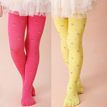 Tights Stockings Summer Cute Cherry Baby Girls Stocking Dancing Children Dress Tights Trousers Pantyhose все цены