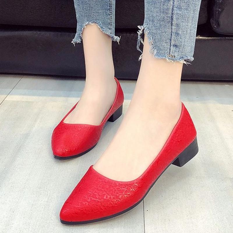 loafers women flats spring women shoes soft pointed toe flats women summer slip-on shoes Korea style ballet flats Doug shoes2018 spring women loafers soft slip on ballet flats for 2017 summer style stripe canvas shoes woman plus size 35 40