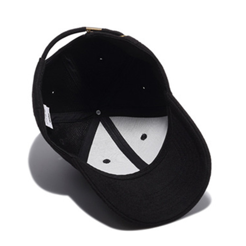 black trucker hat 7