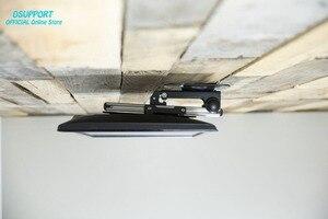Image 2 - Katlanabilir araba tavan 14 37 inç ekran LED LCD monitör tutucu TV askısı askısı duvara monte raf dolabı montaj TV tutucu