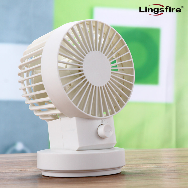 Ultra-silencieux Ventilateur De Bureau 2 Vitesse Portable Silencieux Table Mini Fans Double Côté Petit Personnel USB Fan Home Office Air De Refroidissement
