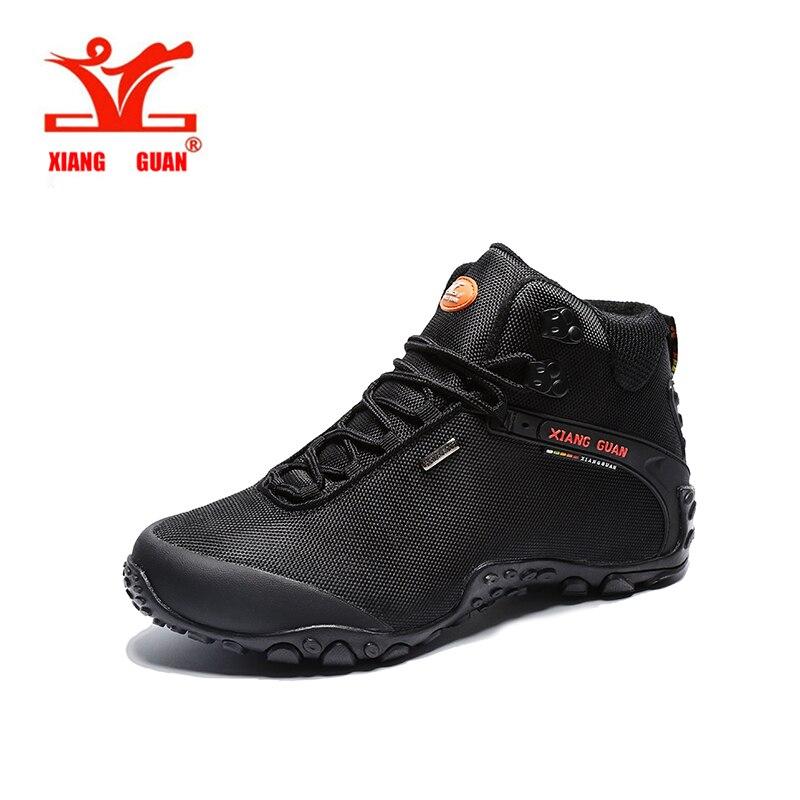 XIANGGUAN 2017 Hiking Shoes Climbing Trekking Men Shoes Waterproof Outdoor Mountain Boots Anti-Slipping Outdoor Sport Shoes Man