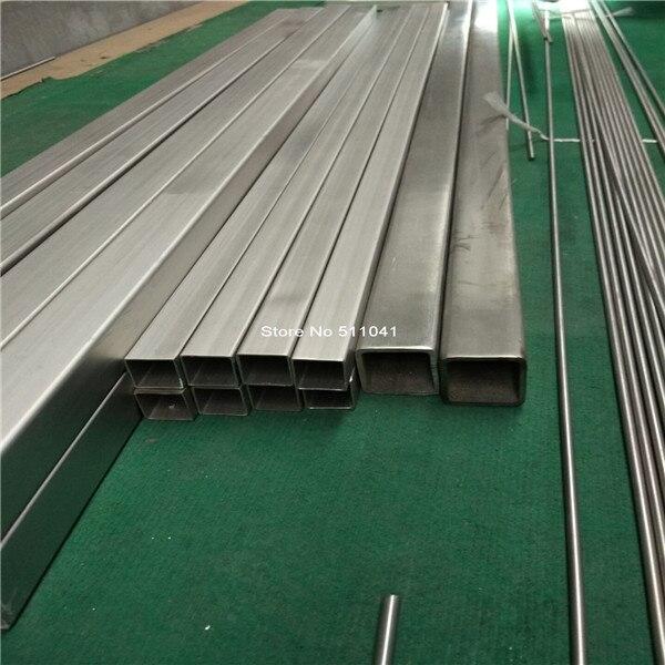 Titanium square tube Grade 2 titanium metal Trangle Corner SEAMLESS tube,30*30*1.5MM ,1000mm Length,3pcs,free shipping