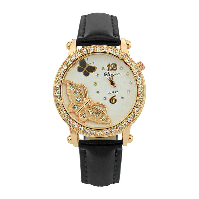 Luxury Ladies Metal Quartz Lether Belt Square Dial With Diamond Women Watches jam tangan pria dress watch womens famous