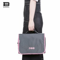 BAGSMART Hanging Toiletry Bag Portable Travel Organizer Cosmetic Make Up Case For Women Men With