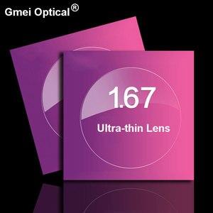 Image 5 - 1.67 高屈折率超薄型コーティングフォトクロミックレンズグレーシングルビジョン処方レンズ抗放射線UV400 色変更高速