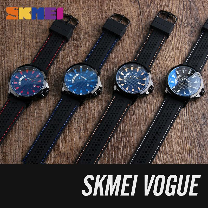 Reloj analógico de cuarzo SKMEI para hombre con fecha Relojes de - Relojes para hombres - foto 6
