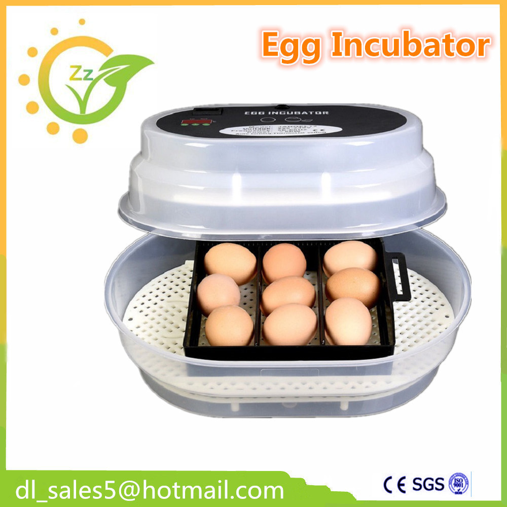 12 Eggs Full Automatic Egg-Turning Mini China Egg Incubator for Hatching Chicken Quail Bird china cheap hathery 12 egg incubator automatic brooder machines for hatching eggs