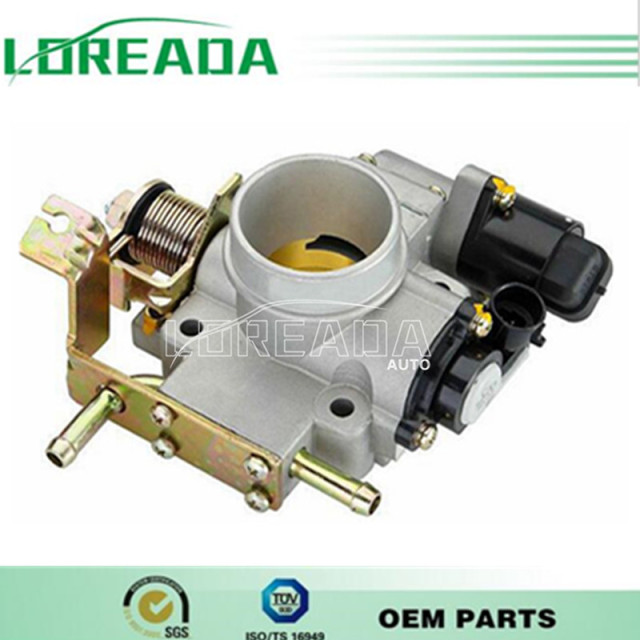 Throttle body for  CHERY QQ UAES Engine displacement  1.0L/1.3L  OEM Quality Bore size 35mm  Throttle valve assembly
