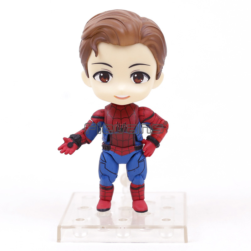 Spider-Man Homecoming Nendoroid 781 Spiderman PVC Action Figure Collectible Model Toy Doll