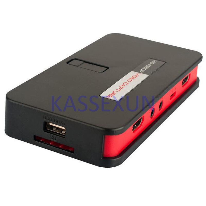 2017 1080P Video Capture Card, convert HDMI/YPbPr directly into U-Driver, TF Card, HDMI, Free shipping