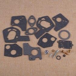 LETAOSK Высокое качество 19 шт. Карбюратор Carb капитальный ремонт комплект для ремонта и восстановления 495606 494624 ДЛЯ Briggs & Stratton 60200 до 62097 3HP-5HP