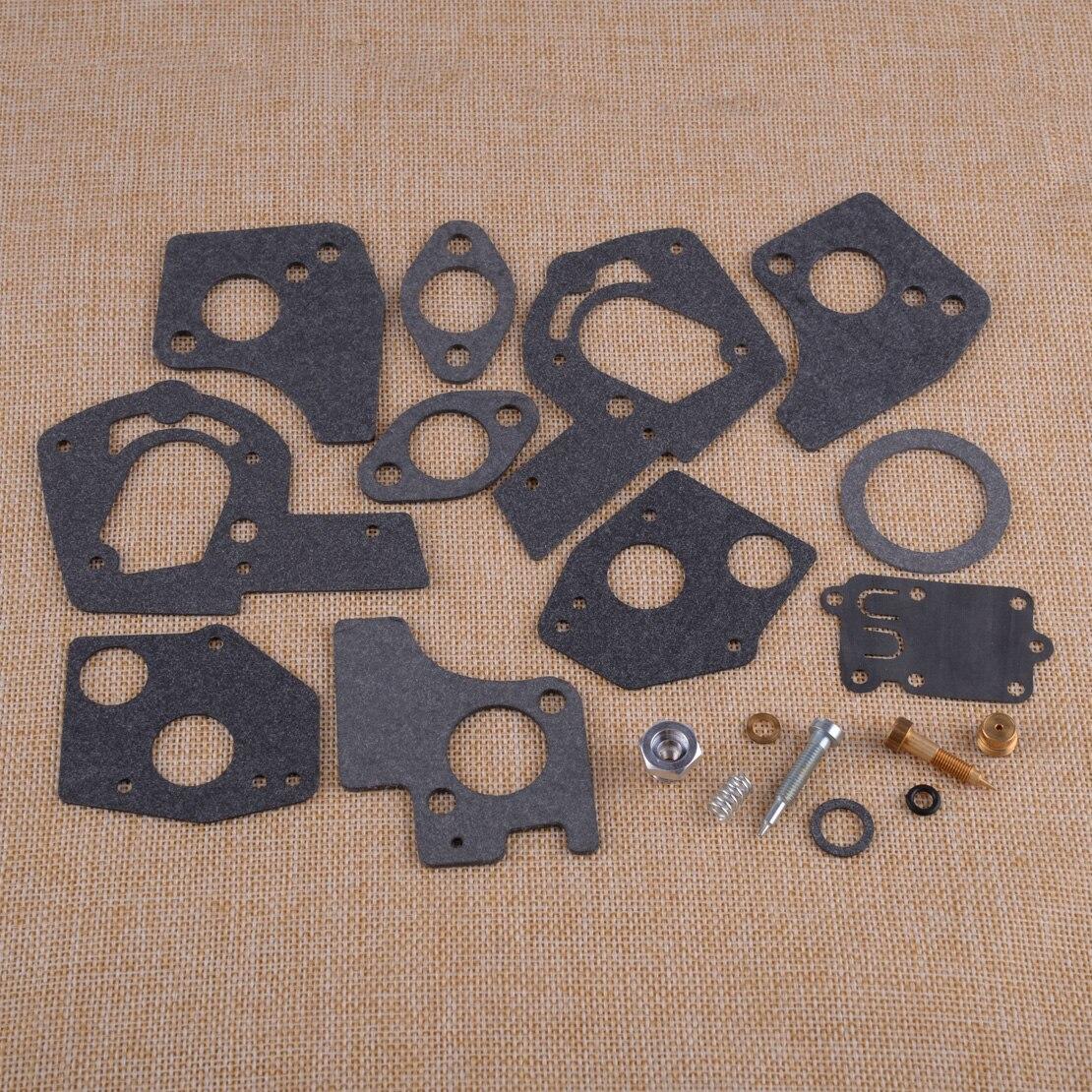 LETAOSK High Quality 19pcs Carburetor Carb Overhaul Rebuild Repair Kit 495606 494624 For Briggs&Stratton 60200 To 62097 3HP-5HP