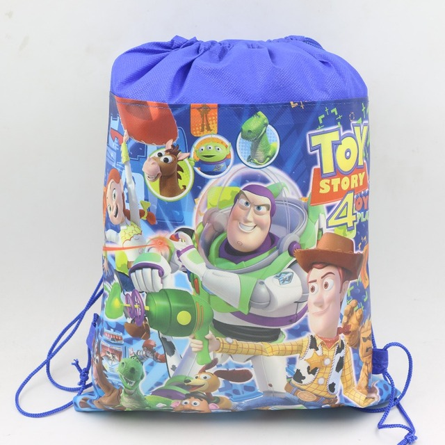 1pcs Lot Kids Favors Gifts Non Woven Fabric Backpack Gift Bags Birthday Party Toy