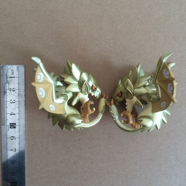 original bulk monster hunter Q version of dragon head fine workmanship pendant key chain mobile phone's accessories 3