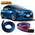 For Accord Type 1 Blue Quicklip Universal Front Bumper Lip EZ 2X100