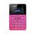 Original aiek q1 quad band mini tarjeta de bolsillo ultra delgado enfriar Los Niños del Teléfono Móvil Celular MP3 FM Inglés Ruso Árabe teclado