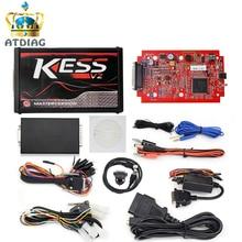 Neueste KESS V2 V5.017 Red PCB KTAG V7.020 SW V2.23 Master ECU Chip Tuning Tool K-TAG 7,020 Online Bedienen Besser KTAG V7.003