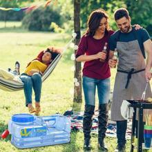5L PC BPA-Free многоразовые пластиковые бутылки для воды галлон замена бутылки для воды оснастки крышки анти-всплеск кувшин контейнер