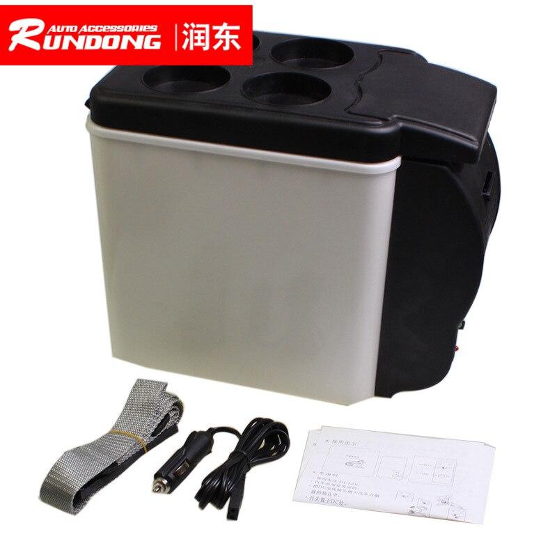 6L автомобильный портативный разогреваемый ящик 12 в автомобильный холодильник морозильник инкубатор A