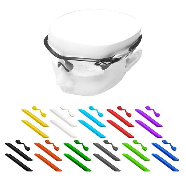 OOWLIT Rubber Kits Nose Pads & Earsocks For-Oakley RadarLock Path OO9181 Sunglasses