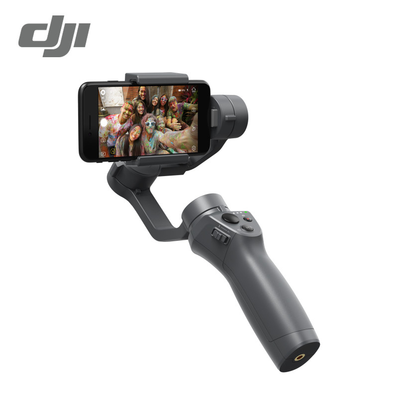DJI Osmo Mobile 2 Handheld Gimbal 3-Axis Handheld Gimbal Stabilizer Phone Stabilizer for iPhone 8X Samsung Huawei Xiaomi smooth dji osmo mobile silver 3 axis brushless handle gimbal stabilizer white